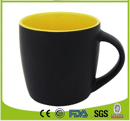 Matt Two Tone Solid Color mug