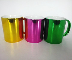 11oz ceramic electroplated mug
