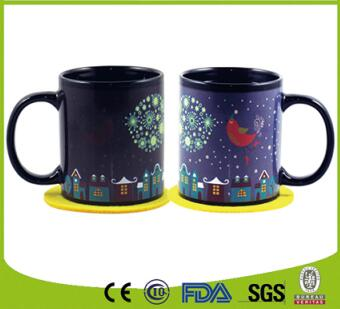 Color changing mug magic mug