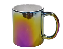 ceramic electroplated mug